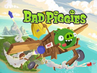 Гра Bad piggies 2015